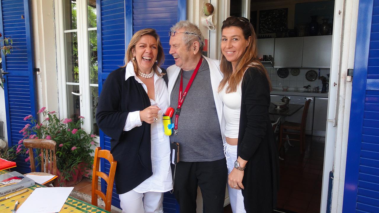 Ben Vautier | Marina Ruggieri e Laura per Marylart