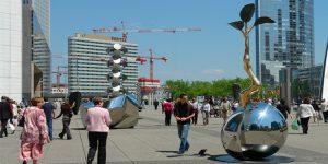 Lim Dong Lak | sculture monumentali in acciaio