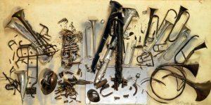 Accumulazioni strumenti musicali Arman