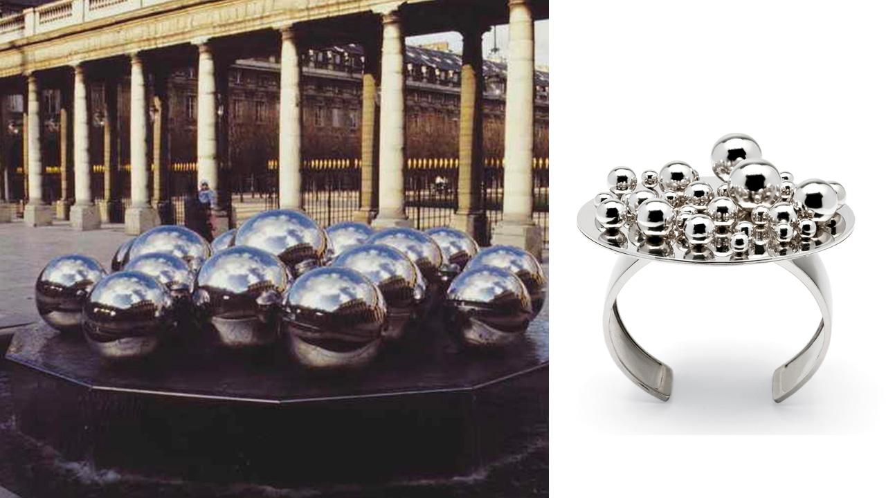 Pol Bury| gioielli d'artista per Marylart