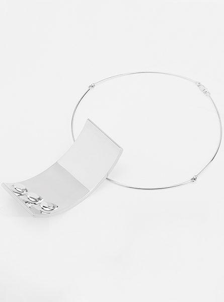Collana in argento di Turi Simeti per Marylart