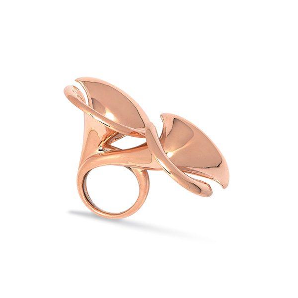 Arman | Anello Trombe in Oro Rosa per Marylart