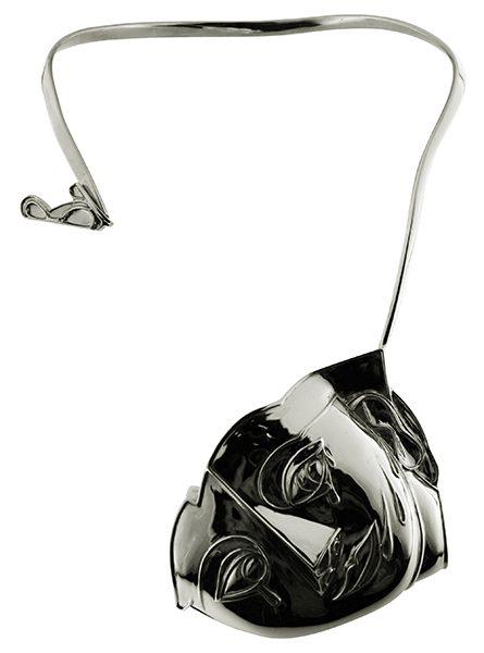 Gioielli d'artista Adami | Collana Jeune Fille in argento
