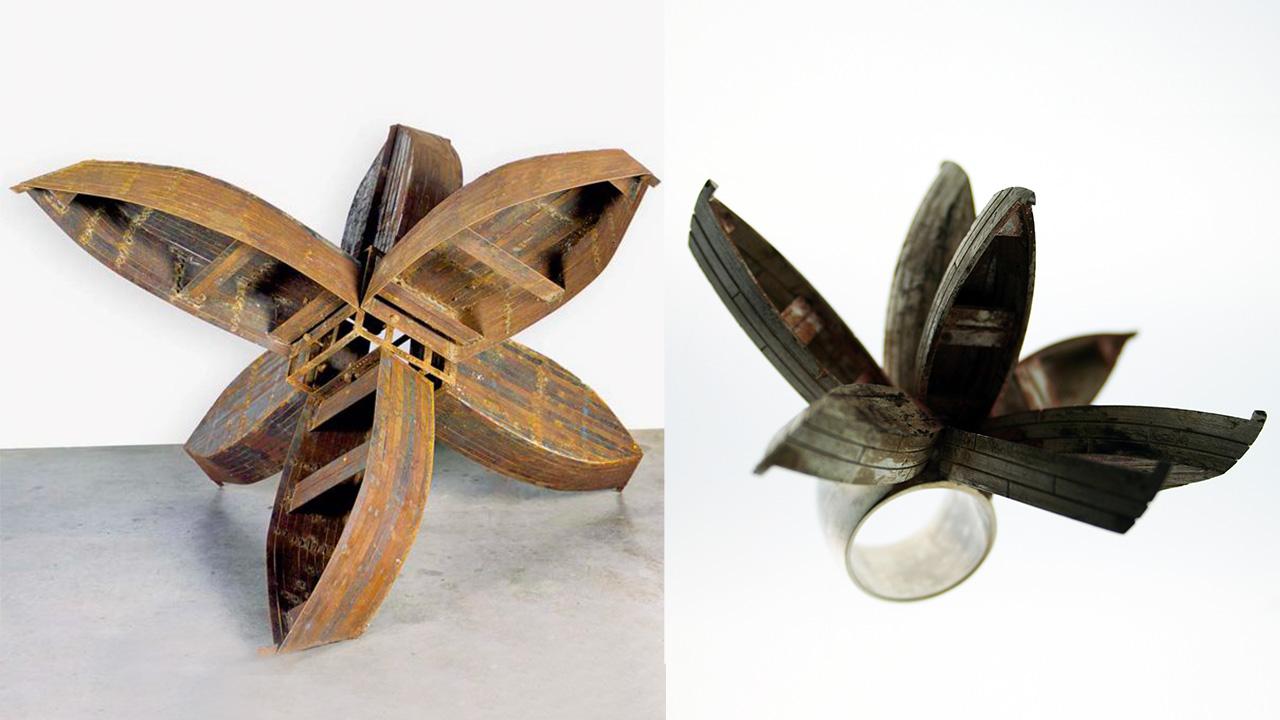 Kcho scultura barche | anello marylart