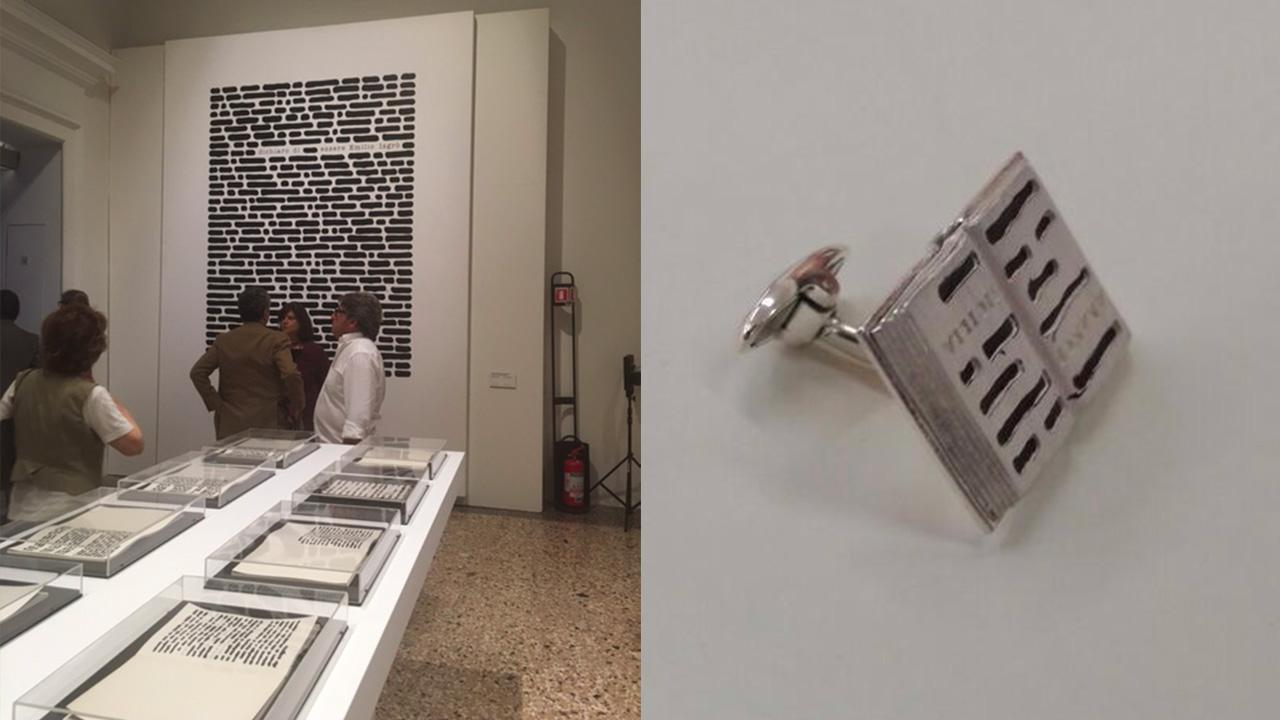 Emilio Isgro | Cancellature e gioielli d'artista