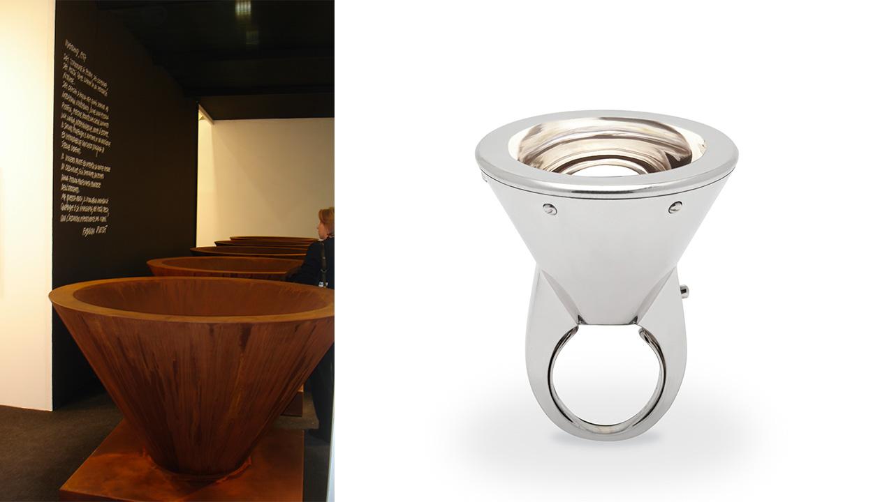 Fabrizio Plessi | anello Led per Marylart